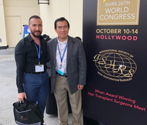 Dr. Varona at The 26th International Society of Hair Restoration Surgery (ISHRS)