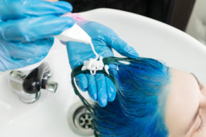 Hair dye and bleaching can cause hair loss